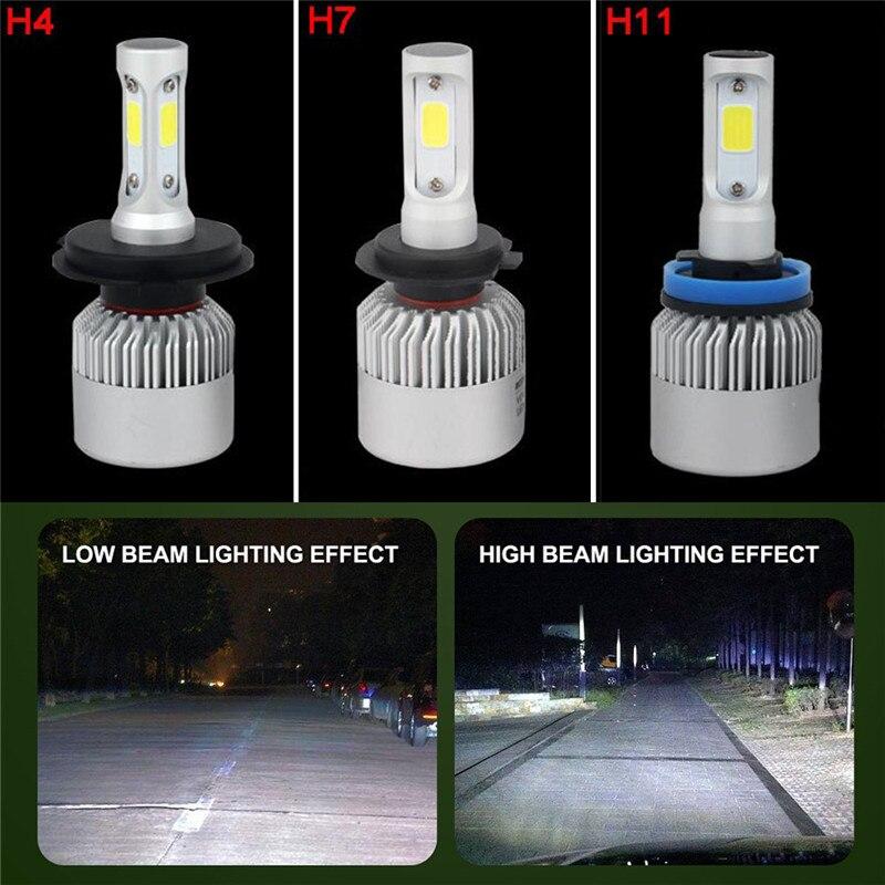 1 шт., автомобильные светодиодсветодиодный лампы H4 72 Вт 6000 лм, 290109 к
