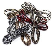 Mibrow 5 metrów/partia wzór lamparta 3mm PU skórzane sznury 11 kolorów skórzany sznurek liny do bransoletki komponenty do wyrobu biżuterii