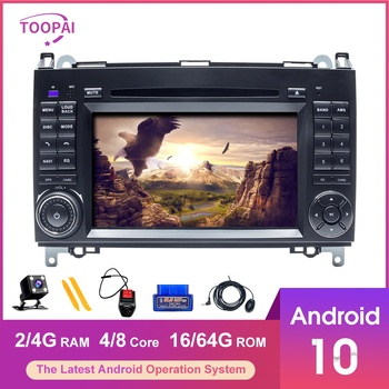 TOOPAI Android 10 Für Mercedes Benz Vito B200 Volkswagen Crafter Auto Multimedia-Player GPS Navigation Auto Radio Stereo image