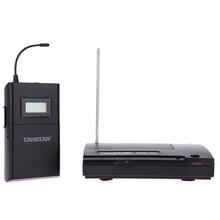 Hot Takstar WPM 200 UHF Wireless Monitor System 50m Transmissie Afstand In Ear Stereo Hoofdtelefoon Headset Zender Ontvanger