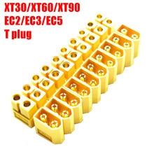 Комплект коннекторов для батарей Droyuke XT30 XT30U XT60 XT60H XT90 EC2 EC3 EC5 T, штекеры с позолоченными банановыми штекерами для радиоуправляемых моделей, 10 ...