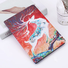 For New Ipad 2017 2018 Case Animal Cartoon Tablet Smart Case Auto Wake Up/Sleep Stand PU Leather Cover For Ipad 9.7 Inch Case case for ipad 9 7 inch 2018 2017 yrskv for ipad 6th generation new retro pu leather cover tpu smart sleep wake tablet case