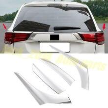 Для Mitsubishi Outlander хромированный задний фонарь накладка лампы 4 шт./компл