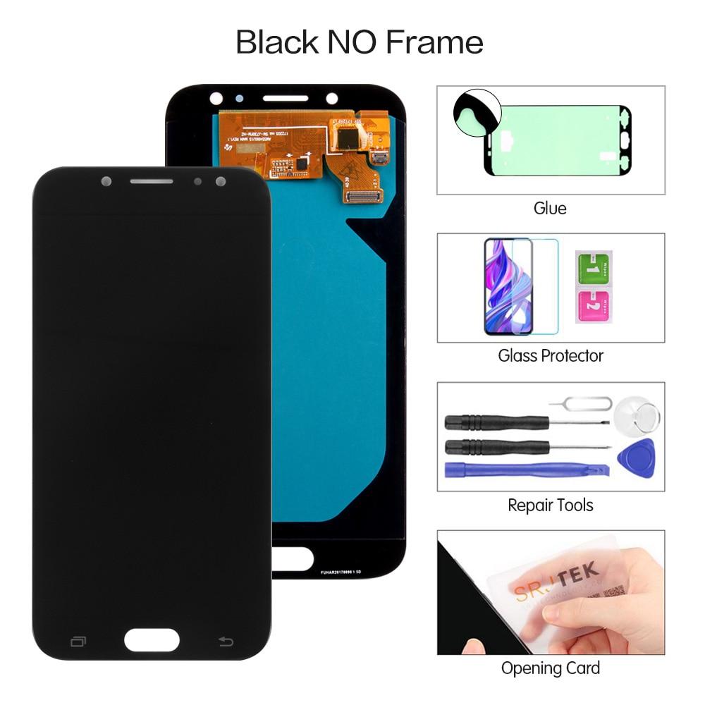 "Original 5.5"" AMOLED Display for SAMSUNG Galaxy J7 Pro J730 LCD For SAMSUNG J7 2017 Display Touch Screen Digitizer J730F Screen"