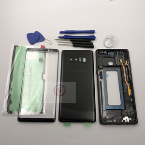 Image 3 - Full Housing Case Back Battery Cover Front Screen Glass Lens  Middle Frame For Samsung Galaxy Note 8 N950 N950F Parts note8