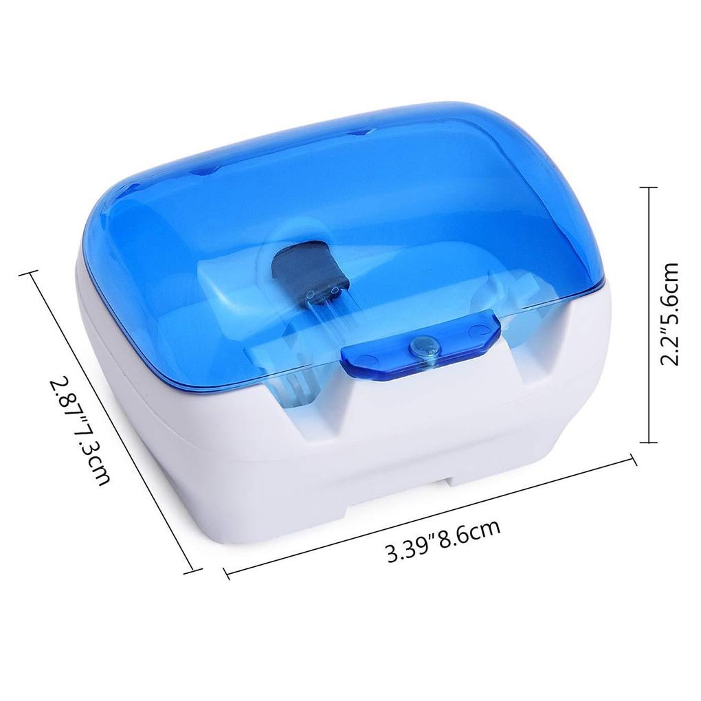 Household Sterilizer Portable Wall-Mounted UV Lamp Sterilizer Toothbrush Holder Toothbrushes Disinfection Box  Secador De