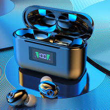 TWS Bluetooth Earphones With Microphone LED Display Wireless Headphones HiFi Mini In-ear Earbuds Headsets HD Call For Phones