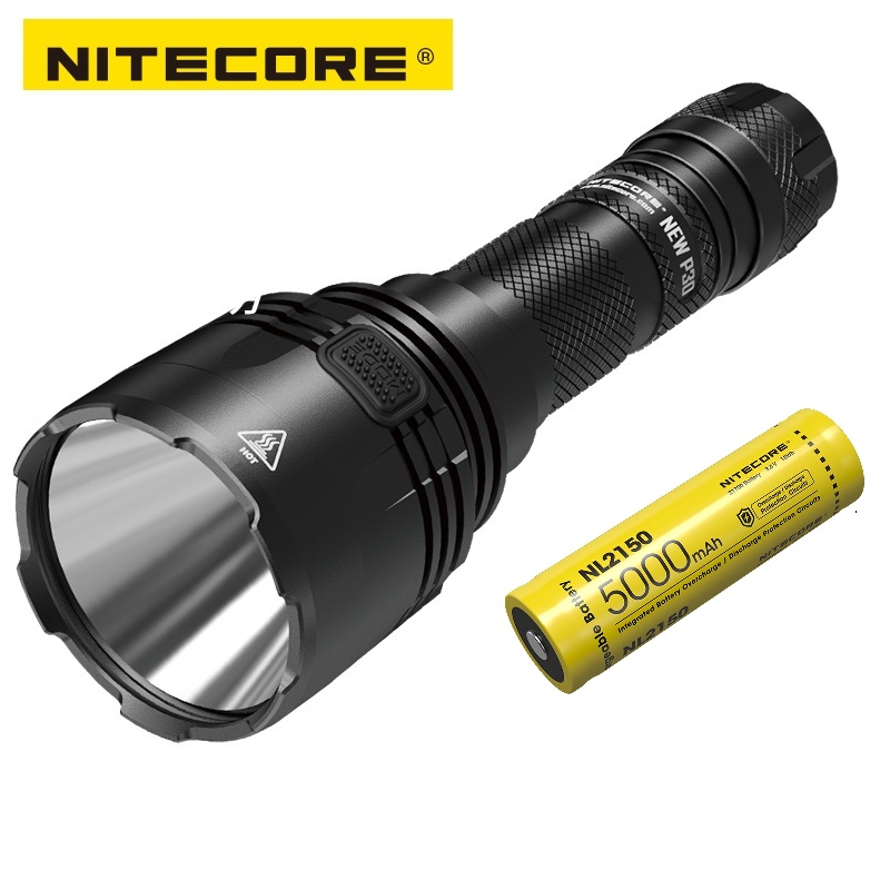 Nitecore NEW P30 CREE XP-L HI V3 LED 1000 Lumens Tactical Flashlight For Hunting,Law Enforcement,Search