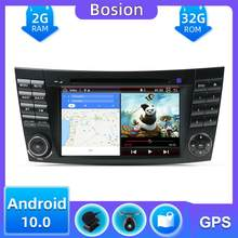 2 Din Autoradio Car DVD Player Android 10For Mercedes Benz E-Class W211 W463 W209 W219 USB GPS Monitor Car Multimedia Head Unit(China)