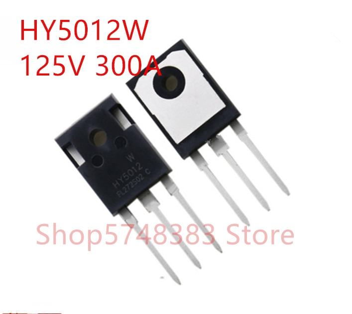 10PCS/LOT 100% New Original HY5012W HY5012 TO-247 125V 300A MOS Tube