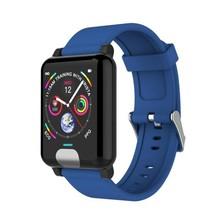 E04 Waterproof Smart Wristband 3d Dynamic Heart Rate Monitor PPG ECG Blood Pressure Muilt-function Bracelet