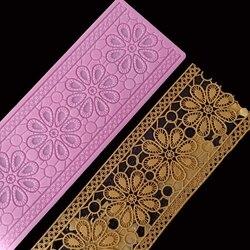 Minsunbak nowa koronkowa mata kwiatowa kremówka dekoracja tortów weselnych SugarCraft