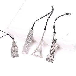 2018 neue Ankunft Vintage Eiffelturm Metall Lesezeichen Für Buch Kreative Artikel Kinder Geschenk Koreanische Briefpapier Kostenloser Versand