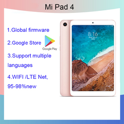 Xiaomi tablet 4 8,0 дюймов планшетный ПК с системой андроида и 10/графические планшеты на экран мобильного телефона или планшета Snapdragon 660AIE 4 Гб операт...