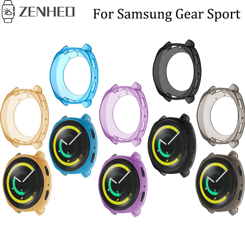 TPU Protector Case Cover For Samsung Gear Sport Replacement Protector Shell Smart Watch Case Accessories