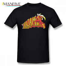 Shazam T Shirt Acronym T-Shirt Short Sleeves Fashion Tee Cute Print Plus Size 100 Percent Cotton Male Tshirt