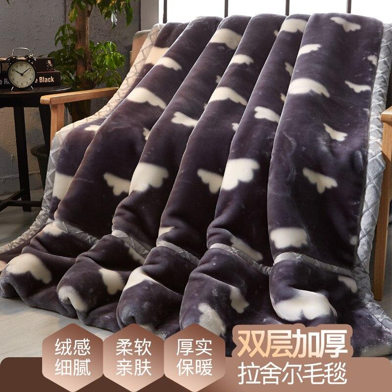 Nouveau Design Raschel couvertures pour enfant dessin animé couverture jeter couverture de haute qualité literie épais chaud sur le canapé lit CF - 6