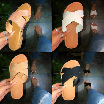 SAGACE New Summer Women Sandals Stitching Sandals Ladies Open Toe Casual Shoes Platform Wedge Slides Beach Woman Shoe 2020 11