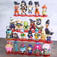 Dragon ball super son goku gohan chichi bulma krillin gyumao pilaf mai shu kaio monstro cenoura wcf figuras brinquedos 8 pçs/set