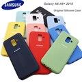 Оригинальный официальный силиконовый чехол для Samsung A6 Plus 2018, защитный чехол для Samsung Galaxy A6 2018 a6 + 2018