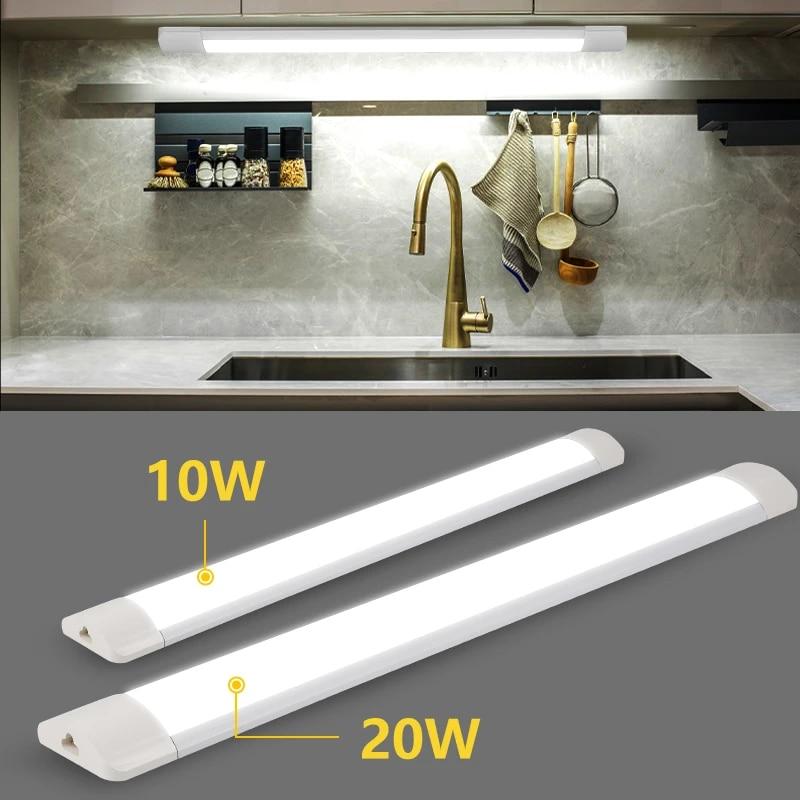Led Buis Licht T5 220v 30cm 50cm Buis Lamp Onder Kast Keuken Verlichting Wandlamp Led Bar Lichten Voor Indoor Home Keuken Led Bulbs Tubes Aliexpress