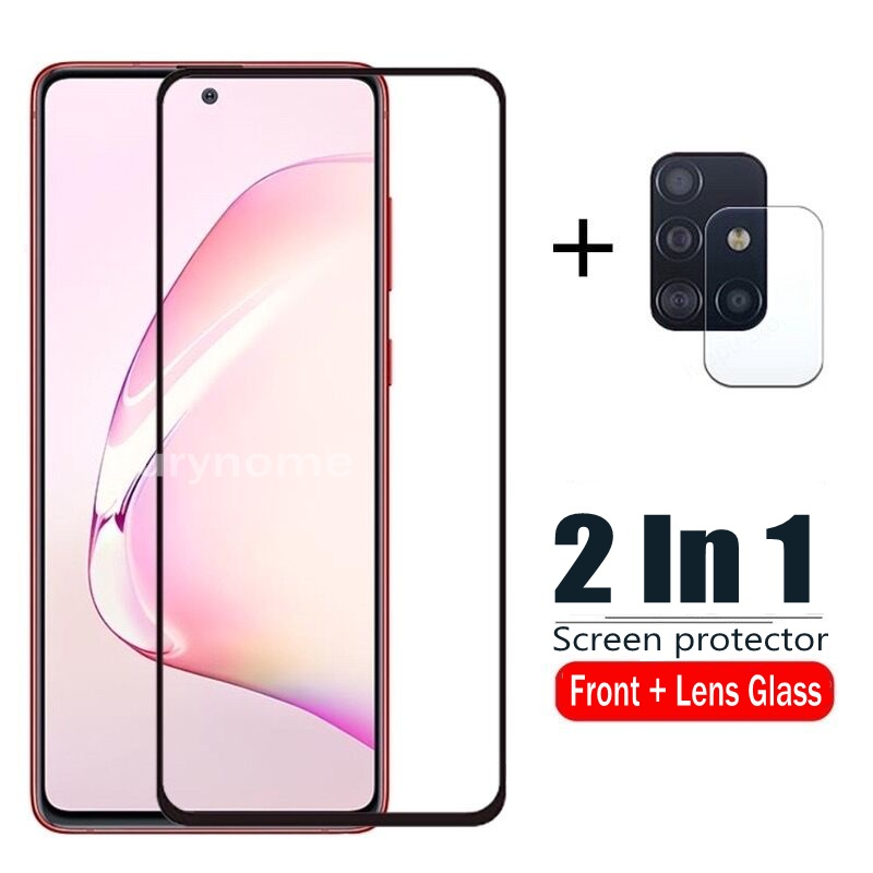 Tempered Glass for Samsung Galaxy A51 A71 A31 Camera Lens Screen Protector Film for Samsung Galaxy A50 A70 A50S A81 A91 A41