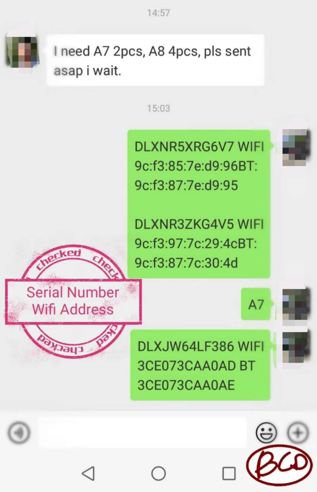 For i Pad Unlock iCloud Serial Number Wifi Address For iPad 2/3/4/5/6/Air1/Air2/mini1/mini2/mini3/mini4 A6 A7 A8 Serial Number(China)