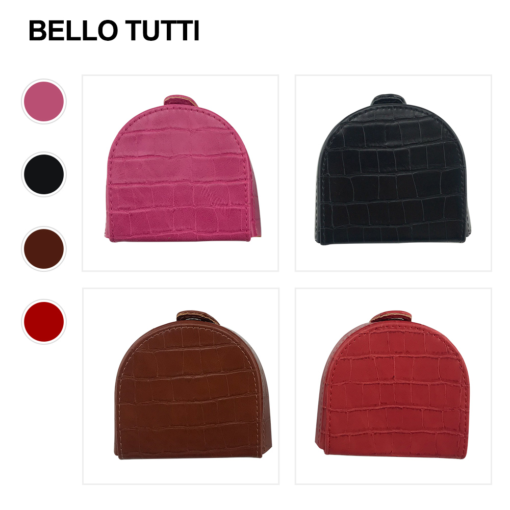 BELLO TUTTI Unisex PU Leather Wallet Coin Purse Men Small Wallet Brand Design Individuation Purse Women Mini Coin Bag Purse New