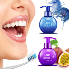 220g Toothpaste Baking Soda Stain Remover Teeth Whitening Protect Gums Blueberry Passion Fruit Flavor