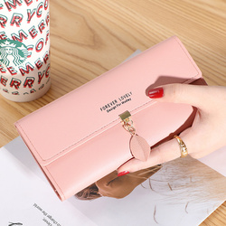 2020Women Pu Leather Wallets Female Long Purses Money Bags Phone Pocket Ladies High Quality Wallet Card Holder Clutch Mujer