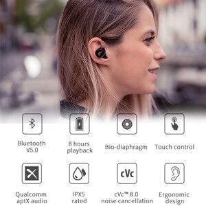 Image 2 - EDIFIER TWS1 Wireless Bluetooth Earphone V5.0 Support aptX IPX5 Touch Control Bluetooth Earbuds 3D Stereo Wireless Earphone