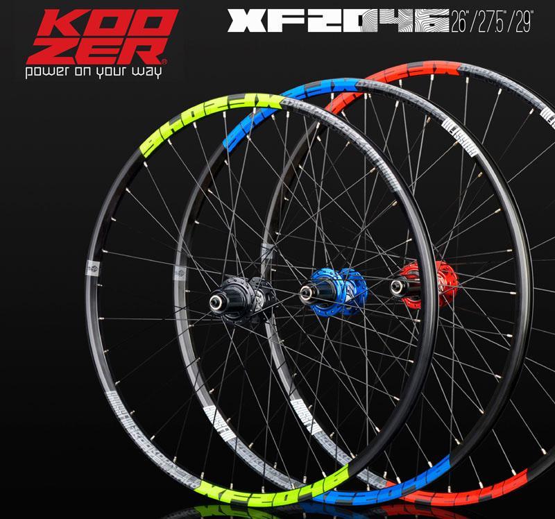 Bike Wheelset KOOZER XF2046 rim MTB Mountain 26/27.5/29er inch 72 Ring 4 Bearing Thru or QR Wheels use XM490 hub 8 9 10 11speed(China)
