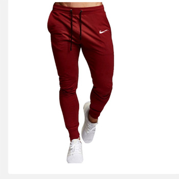 2021 Men's Jogging Pants Fitness Sweatpants Muscle Fitness Stretch Pants