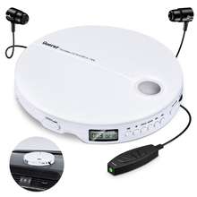 Portable CD Player Shockproof Compact HiFi Music Player Reproductor CD With Earphones lecteur CD Music Walkman CD Player Discman shanling cd player scd1 hifi exquis sacd hifi dsd