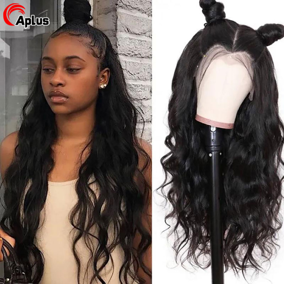 Loose Wave Wig 13x6 Transparent Lace Front Human Hair Wigs 360 Lace Frontal Wig 26 Inch Deep Part Long Wig For Women Pre Plucked