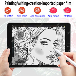 Paper Like Screen Protector Film Matte PET Painting Write For Apple iPad 9.7 Air 4 3 2 10.5 10.9 2020 Pro 11 10.2 7th 8th Gen