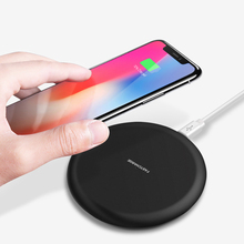 купить Qi Fast Wireless Charger For iPhone 11 Pro XS XR Max 10W Wireless Charging USB Fast Charger for Samsung S10 S20 USB Charger Pad в интернет-магазине