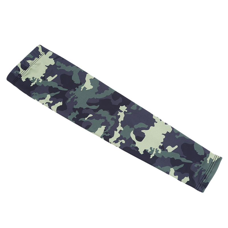 New Camouflage Tactical Military Arm Sleeves Outdoor Riding Fishing Sun UV Protection Cover Camouflage Ice Silk Sunscreen Cuff