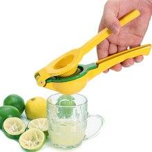 Высококачественная металлическая соковыжималка для лимона и лайма-ручная соковыжималка для цитрусовых