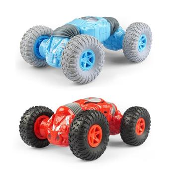 Mini twist car remote control deformation car stunt four-wheel off-road car climbing Bigfoot twist car high cost performance image