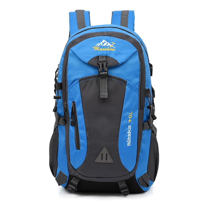40L unisex waterproof men backpack travel pack sports bag pack Outdoor Mountaineering Hiking Climbing Camping backpack for male
