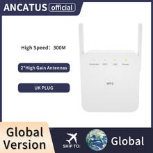 ANCATUS GLWA300W-UK 802.11N Wifi Range Extender Router Wi-Fi Signal Amplifier 300Mbps WiFi Booster 2.4G Wi Fi