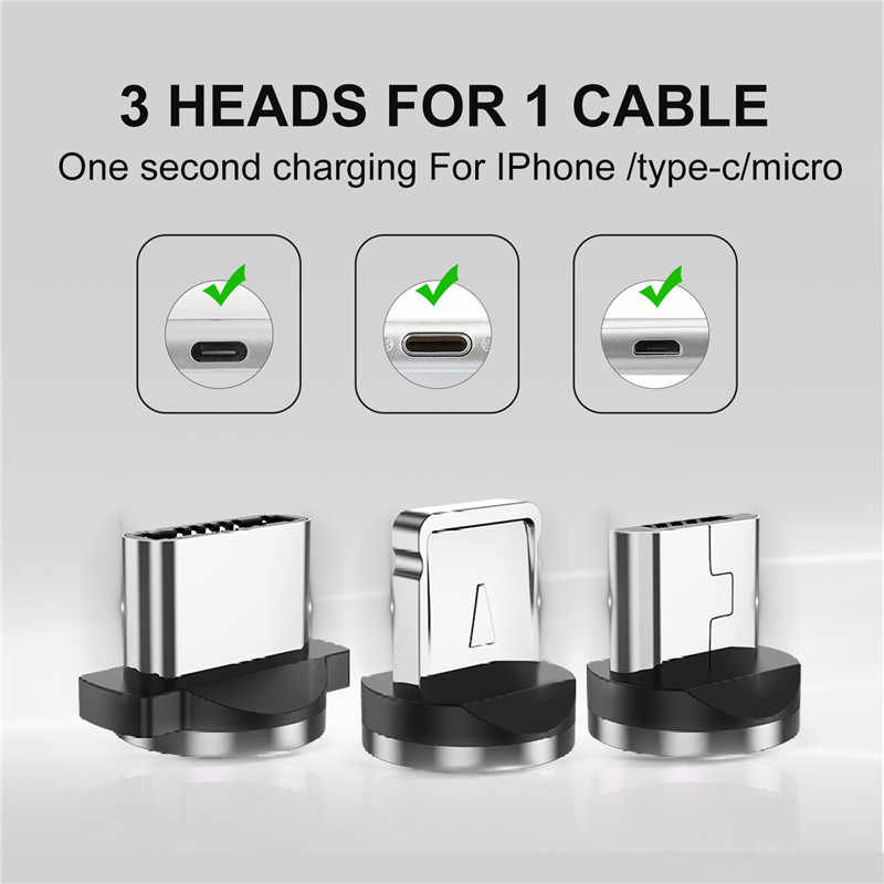 Gtwin Magnetic Cable Micro Usb Type C Cable For Iphone Xiaomi Samsung Fast Charging Wire Usb C Magnet Charger Usb Cable Cord