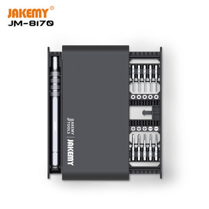 Image 2 - רב תכליתי פתיחת תיקון כלי סט מברג סט 21 ב 1 אלומיניום סגסוגת ידית מברג סט עבור טלפונים Tablet PC