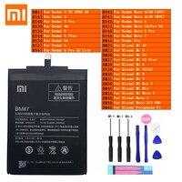 Xiaomi Original Redmi Hongmi Hinweis Mi Max 2 A2 3 3S 4 4A 4C 4X Mix 5 5A 5X 5S 6 6X 7 8 9 Lite Plus Pro Pocophone F1 Telefon Batterie