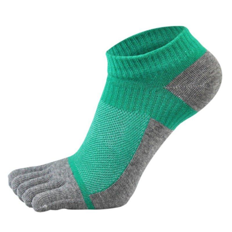 1 Pair Men\'s Socks Mesh Meias Sports Running Five Finger Toe Socks New Arrival