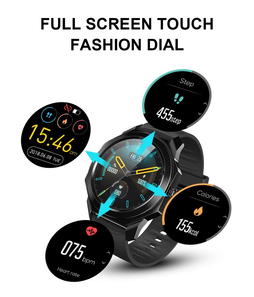 2021 nova r68 relógio inteligente ip68 à
