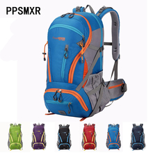 New 45L Outdoor Backpack Camping High Strength Nylon Waterproof Bag Climbing Hiking Travel Sport  5 Color