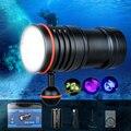 TrustFire DF50 6500 Lumen Video Tauchen Photoraphy Licht Unterwasser 100m Dive Beleuchtung Hohe Helle LED Taschenlampe Taschenlampe