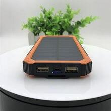 Chargeur de batterie solaire portable 10000 mah, adapté à huawei millet samsung IPhone voyage essentiel